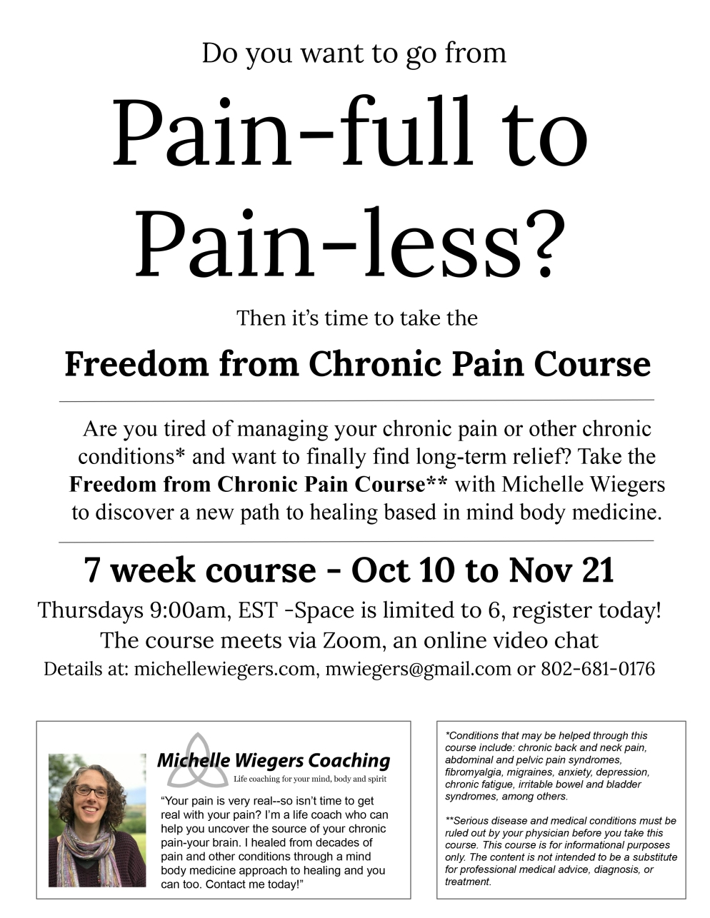 chronic-pain-course-Online-flyer